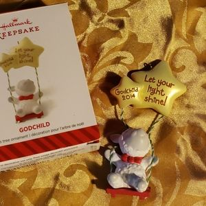 2014 Godchild Hallmark Keepsake ornament